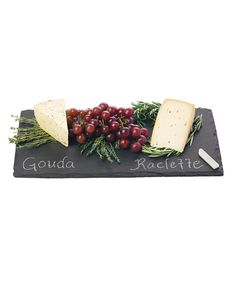 Look at this Slate Cheese Board Set on #zulily today!