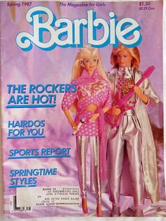 Barbie and the Rockers - Barbie and Ken, I had them both!