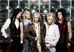 My other favourite band, Cinema Bizarre, I also love the way they dress and I wish I could dress like that
