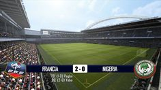 FRANCIA - NIGERIA 2-0 - MONDIALI BRASILE 2014 - 30-6-2014 - SCHEDA TECNICA