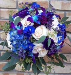 Blue Orchids... | Weddings, Style and Decor, Do It Yourself, Beauty and Attire | Wedding Forums | WeddingWire