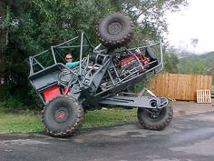 Off Roading Extraordinaire Chainlink Transforming Super Buggy