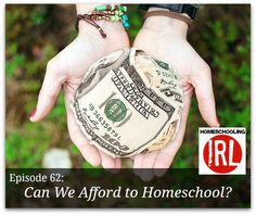 How much does it cost to homeschool? Can we afford it? We're talking money and finances and homeschooling!
