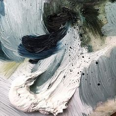 Colours that remind us of the ocean on a stormy spring afternoon. gorgeous paint palette of tones by Modern Art, Contemporary Art, Art Noir, Street Art, Graffiti, Color Stories, Illustrations, Art Inspo, Color Inspiration