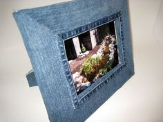 Denim Picture Frame