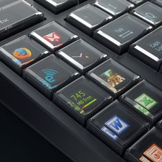 The ultimate nerd's keyboard - Optimus Maximus Keyboard by Art. Lebedev Studio
