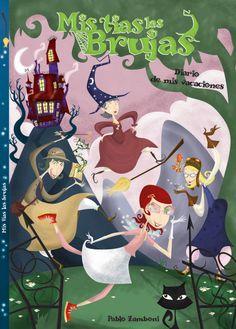 "Tias Brujas. Boceto de tapa de la novela grafica ""Tias brujas"". Reading, My Love, Anime, Movie Posters, Movies, Art, Graphic Novels, Sketch, Bruges"