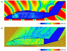 Strong electromagnetic fields can potentially affect aircraft electronics directly. Read about modeling high intensity radiated field effects on aircrafts. Click the image to read the full article.