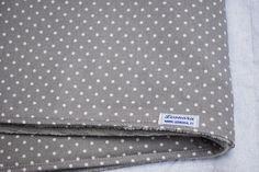 Baby blanket and star pillow, organic cotton, Leonora