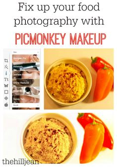 So clever! How To Fix Your Food Photography With PicMonkey Makeup - by Platt Bandley Platt Bandley Leonard Photography Software, Photography Brochure, Food Photography Tips, Photography Lessons, Earn Money From Home, Way To Make Money, Websites Like Etsy, Camera Hacks, Wrinkle Remover