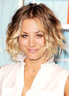 October 2014 Photo - Kaley Cuoco's Hair Evolution - Us Weekly