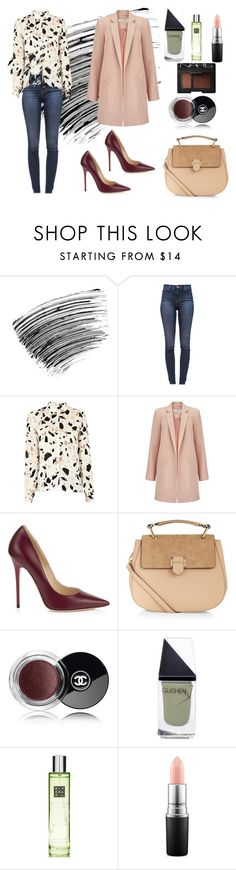 """Sans titre #112"" by aureliefi ❤ liked on Polyvore featuring Bobbi Brown Cosmetics, J Brand, SECOND FEMALE, Miss Selfridge, Jimmy Choo, Accessorize, Chanel, GUiSHEM, Rituals and MAC Cosmetics"