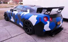 Nissan GT-R - Camo Dipped