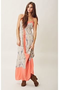 gypsy 05 | silk paisley maxi dress