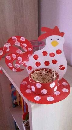 Lots of ideas for Easter activities with kids . - DIY - Ostern - Crafts Home Easter Activities, Easter Crafts For Kids, Children Activities, Easter Ideas, Kids Diy, Easter Dyi, Art Children, Easter Table, Young Children