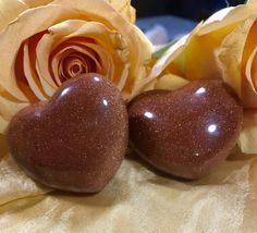 Red Goldstone Healing Crystal Heart Etsy shop https://www.etsy.com/listing/490995184/goldstone-puffy-heart-for-vitality