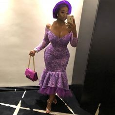 Wanna Be a Trendsetter- Checkout These Eye-popping Aso-Ebi Styles… by Zahra Delong - 2019 Trends Aso Ebi Lace Styles, African Lace Styles, Lace Dress Styles, African Lace Dresses, Kente Styles, African Clothes, African Fashion Ankara, Latest African Fashion Dresses, African Print Fashion