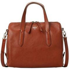 Fossil Sydney Leather Satchel Bag