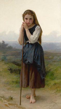 William Bouguereau - PASTORINHA - 1891