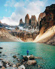 Torres del Paine National Park, Patagonia, Chile. Den perfekten Reisebegleiter findet ihr bei uns: https://www.profibag.de/reisegepaeck/