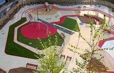 Aire_de_jeux_Espace_Libre-Playground « Landscape Architecture Works | Landezine