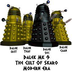 Doctor Who 3-D Dalek Exterminate Keychain Skaro Alien Cyborg Robot Cosplay