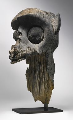 Dayak Fragment of an Ancestor Image, Borneo, Indonesia | Lot | Sotheby's