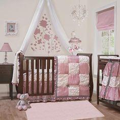 "The Peanut Shell Bella 6 Piece Crib Bedding Set - The Peanut Shell - Babies ""R"" Us"