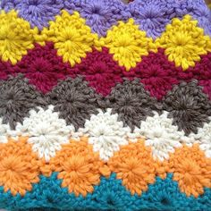Catherine's wheel stitch (see board for pattern)
