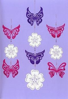Mindenféle - Klára Balassáné - Picasa Webalbumok How To Make Paper Flowers, Paper Flowers Wedding, Paper Flowers Diy, Butterfly Crafts, Butterfly Design, Flower Crafts, Hobbies And Crafts, Diy And Crafts, Crafts For Kids