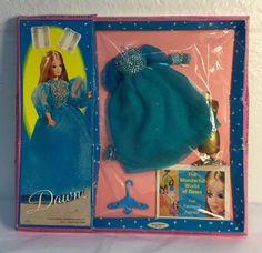 Vintage Topper Dawn Doll Fashion Party Puffery/#0712 NIB