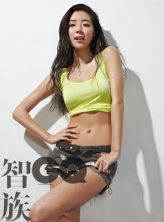 Korean actress Park Han Byul in Chinese edition of GQ Magazine.
