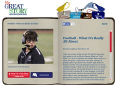 Check out January 2014 My Great Story of the Month Contest Winner, Football - What It's Really All About, by Susan Leighton of Bryn Mawr, PA! Share your story at ndss.org/stories.