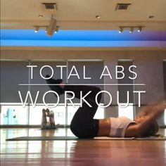 Total Abs workout for women Fitness Workouts, Abs Workout Routines, Fitness Workout For Women, Fitness Motivation, Workout Videos, Ab Routine, Total Ab Workout, Total Abs, Ab Workout At Home