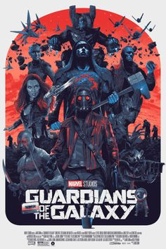 Guardians of the Galaxy Poster - Grzegorz Domaradzki
