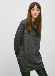 Make yourself comfortable with an oversized sweater