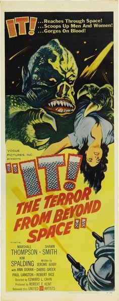 Los 25 mejores posters del cine de terror
