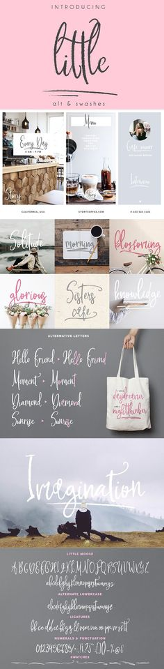 Little Moose Script --- It's handwritten script with many different swatches, alternative letters and ligatures. This font is ideal for branding and decorate Wedding Fonts, Wedding Invitations, Text Fonts, Design Lab, Create A Logo, Cool Fonts, Script, Place Card Holders, Branding