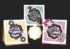 Swinging Sentiments Card Set 3 Cameo Ready - CUP707919_1577 | Craftsuprint