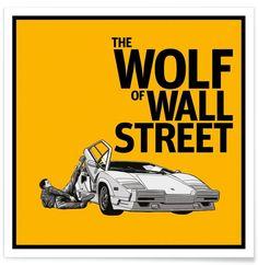 The Wolf of Wall Street - Federico Mancosu - Premium poster