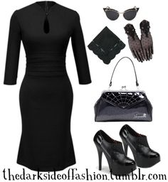 Dark Fashion — Black Widow (store links below) Dress $22 /...