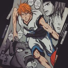 #kise is the one who can copy the moves and skills of other players perfectly 👌💛💛💛
