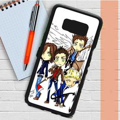 Supernatural Cartoon Samsung Galaxy S8 Plus Case Casefreed