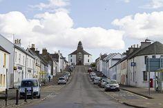 Bowmore Main Street Round Church Islay Scotland by webted, via Flickr
