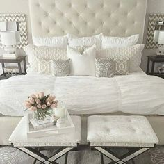 My new dreamy bedroom I want to have in my room