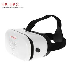 VR MAX Virtual Reality Glasses Headset 3D Glasses Movie Game Head-Mounted Display w/ Headband for iOS Android & PC Phones Series within 3.5 ~ 6.0 Inches