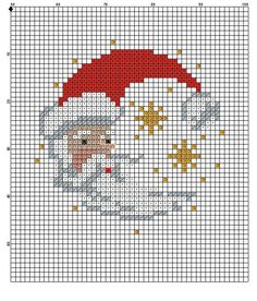Crafting Archives - Page 92 of 141 - Crafting Intensity Santa Cross Stitch, Counted Cross Stitch Patterns, Cross Stitch Charts, Cross Stitch Designs, Cross Stitch Embroidery, Cross Stitch Christmas Ornaments, Christmas Embroidery, Christmas Cross, Christmas Knitting
