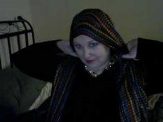 ▶ Headscarf Tutorial--Crown Style - YouTube