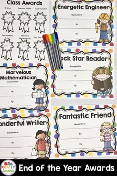 These fun, bright classroom awards will allow you to recognize every student's talent. This pack includes pages for students to nominate classmates for each award! Learning Resources, Student Learning, Fun Learning, Teaching Tips, Motivational Activities, Teaching Second Grade, Math Challenge, Behavior Plans, First Grade Activities