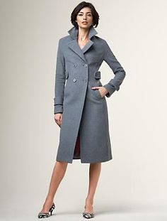 wool winter coat from Talbots, $319
